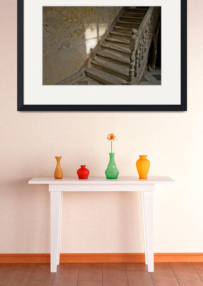"""""""Ancient Stairs, Louhans, France""""  (2008) by SederquistPhotography"""