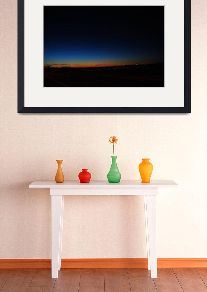 """""""Busselton from Wannerup with Venus&quot  by suehickton"""