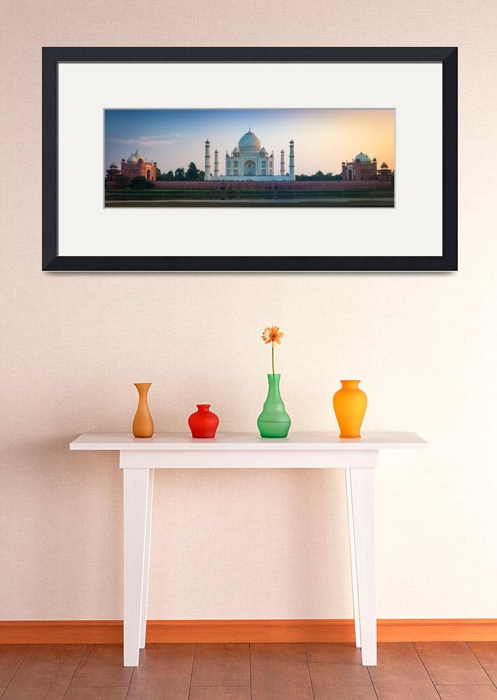 """Taj Mahal Panorama&quot  (2013) by Inge-Johnsson"