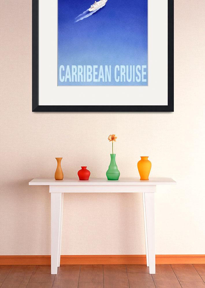 """Carribean Cruise poster&quot  (1994) by cocomasuda"