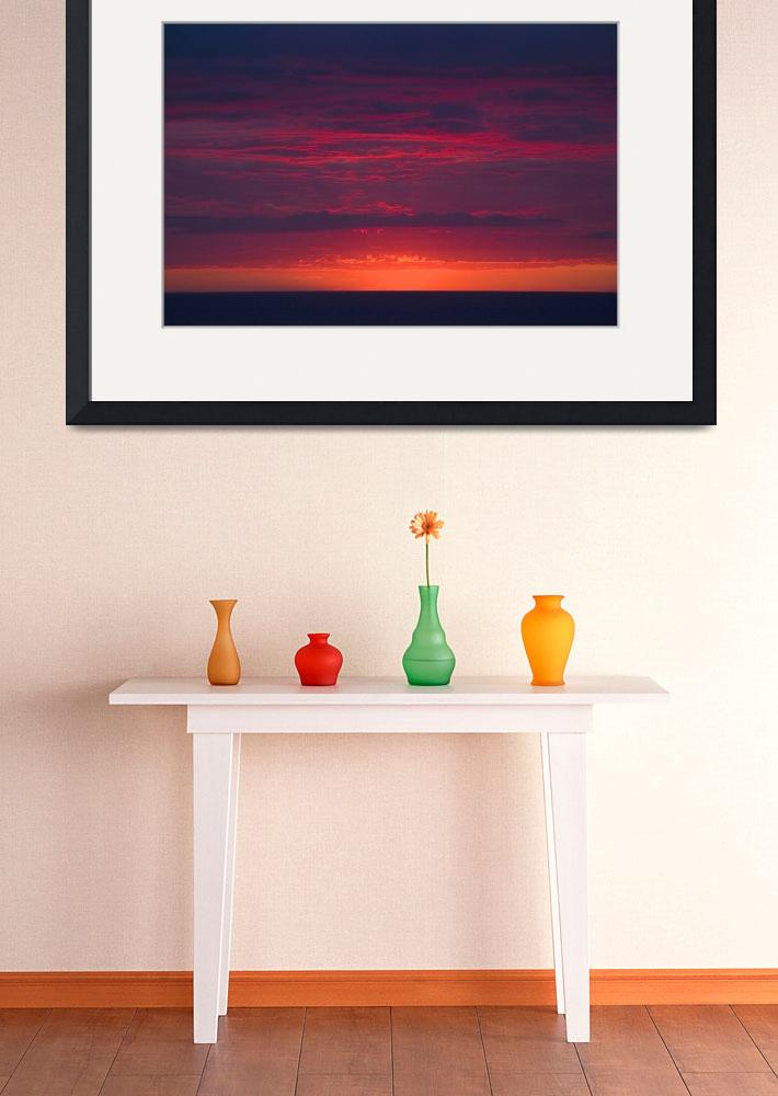 """""""abstract sunset at the seaside""""  by PhotographyByPixie"""