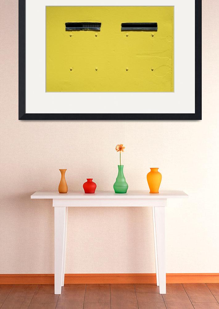 """""""untitled on yellow&quot  (2010) by pchweat"""