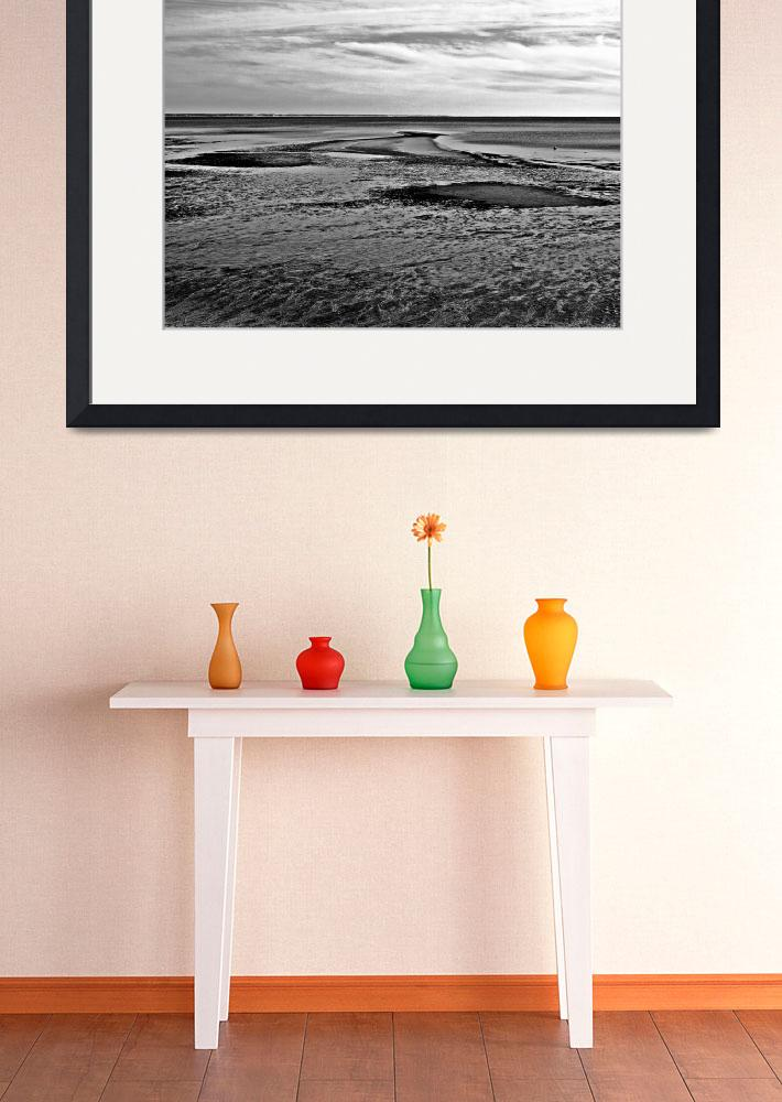 """""""P Town at Low Tide&quot  (2012) by bavosiphotoart"""