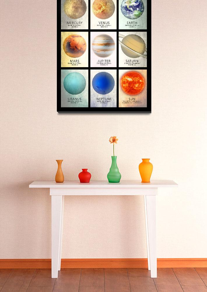 """""""The Solar System&quot  by mark-rogan"""