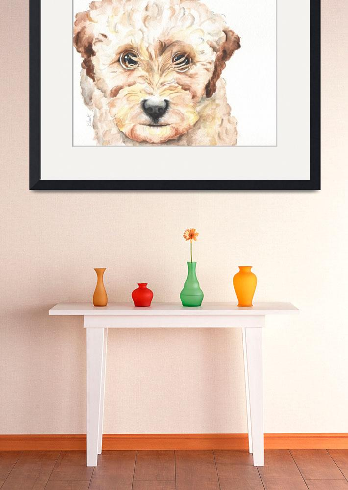"""""""TP Trailing Toddler Labradoodle Nala&quot  by Designomel"""
