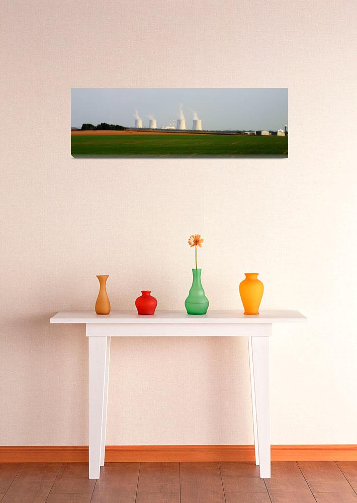 """Czech Republic Nuclear Power Plant""  (2011) by picturesbybgale"