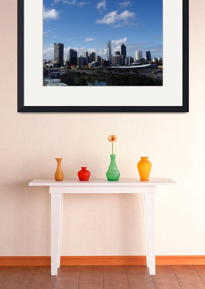 """Perth Cityscape&quot  (2006) by CMphoto"