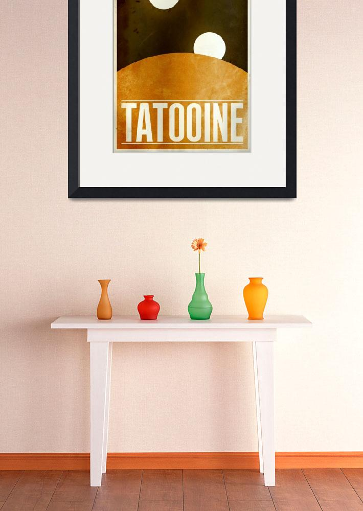 """""""Tatooine&quot  (2010) by JustinVG"""