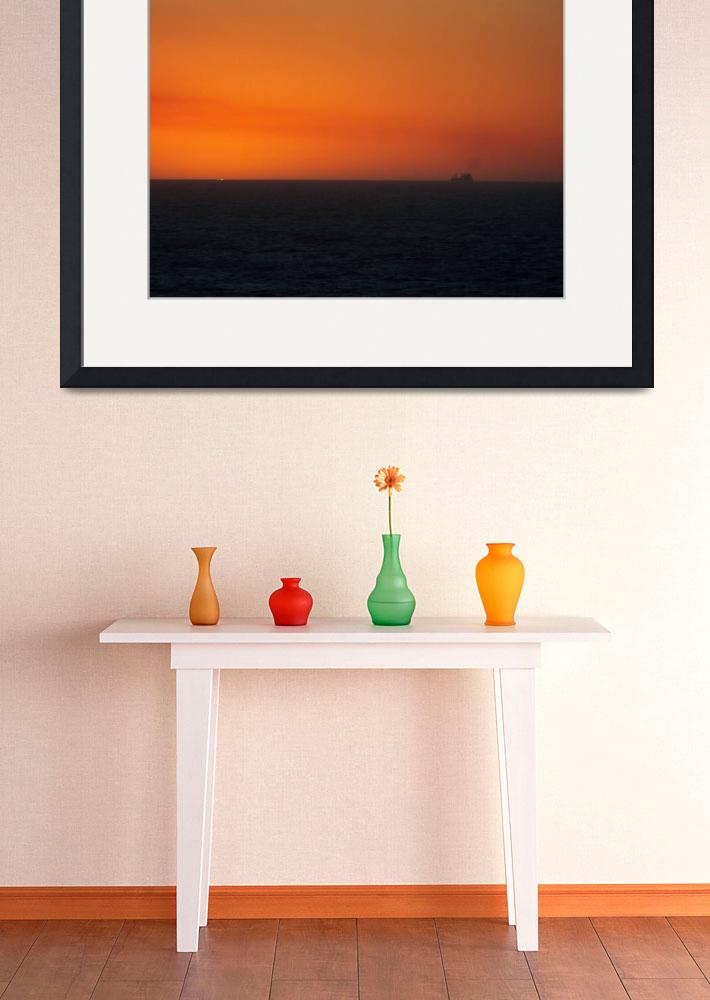 """""""South African Sunset&quot  (2008) by FifePhotographer"""