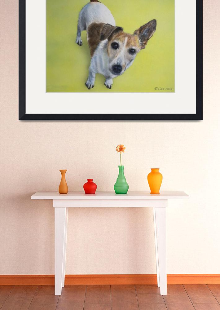 """""""Jack Russell Dog&quot  (2016) by RaymondOre"""