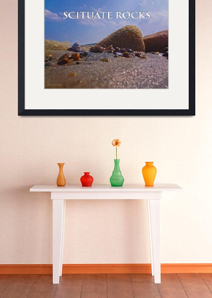 """""""Scituate Rocks 18x24 2&quot  by SkySail"""