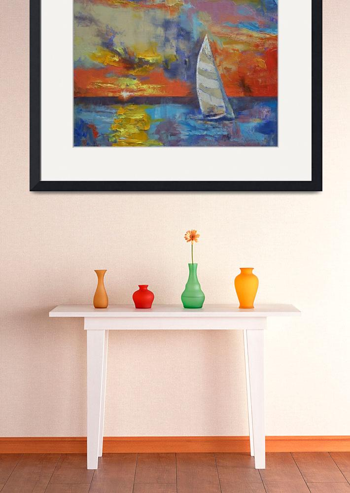 """""""Sailboat&quot  by creese"""