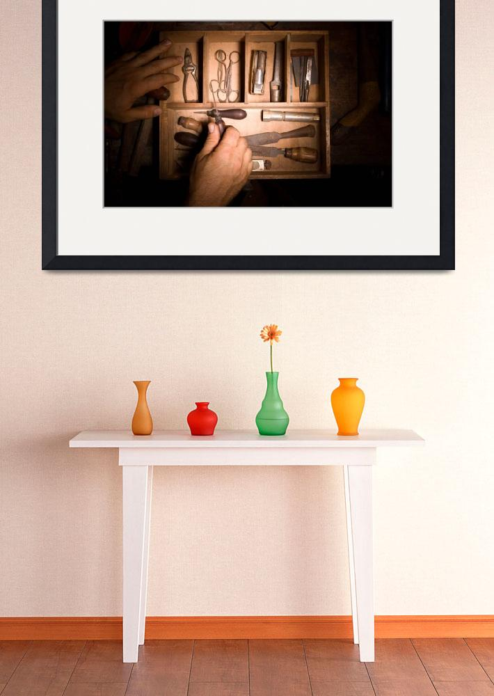 """""""Furniture Maker Stills No. 2&quot  (2009) by tokyphotography"""