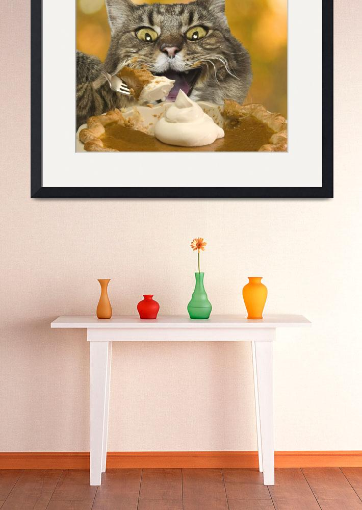 """""""Thanksgiving-Cat&quot  (2005) by johnlund"""