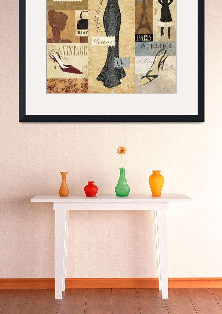 """""""Couture Paris I""""  by artlicensing"""