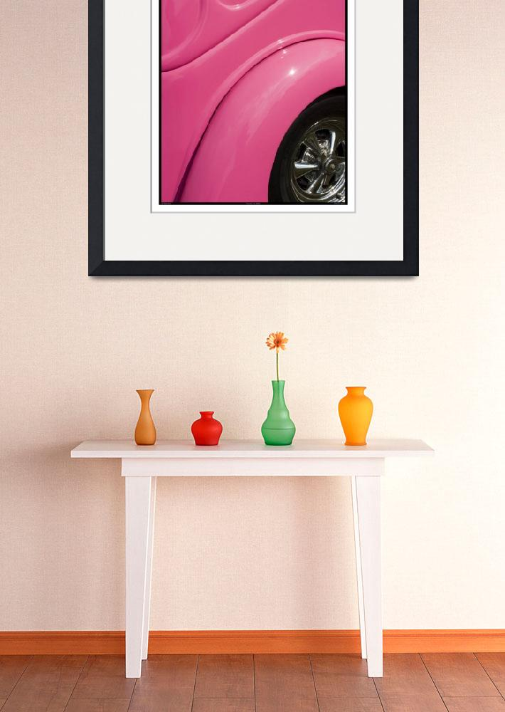 """""""Classic Car Pink - 09.19.09_504&quot  (2009) by paulhasara"""