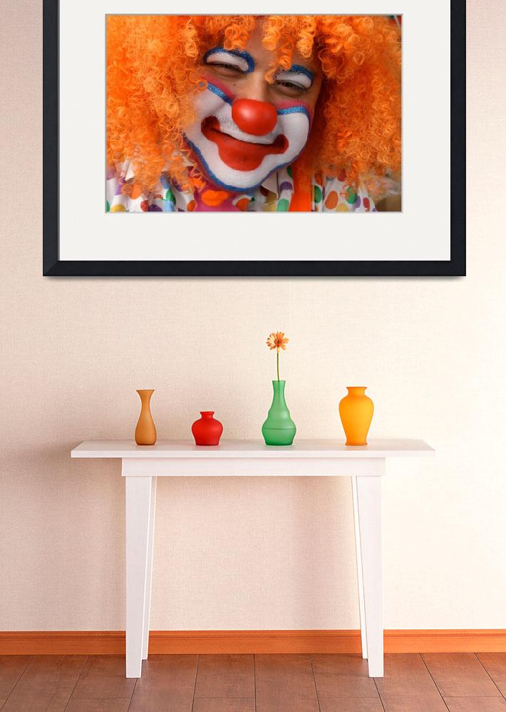 """""""The Clown""""  (2009) by MindsEyeImagery"""