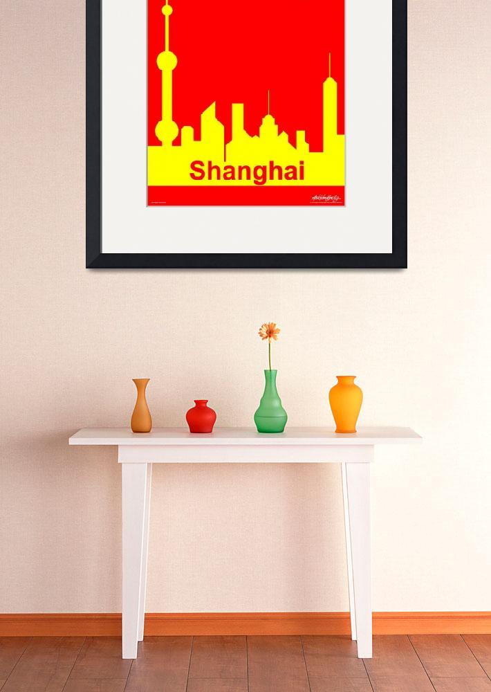 """""""Shanghai Sunshine - Text Poster&quot  by Lonvig"""