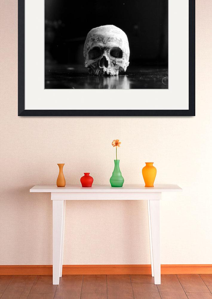 """Skull&quot  (2004) by SF_Lilith"