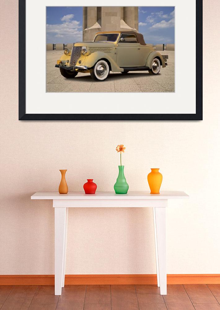 """""""1936 Ford Cabriolet&quot  (2018) by FatKatPhotography"""