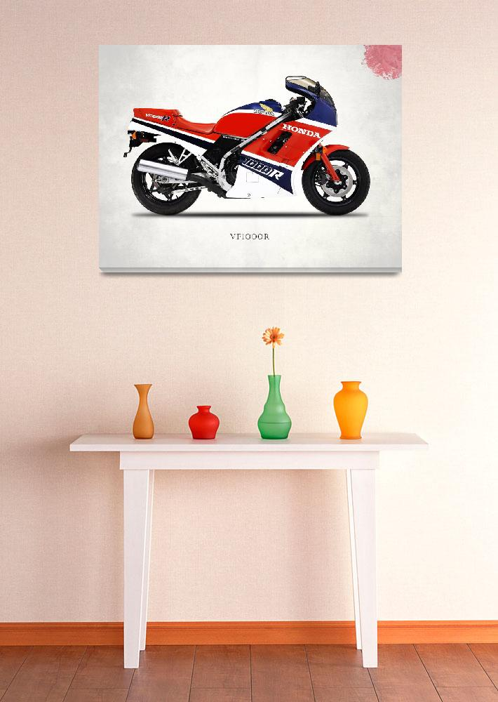 """The Honda VF1000R Classic Motorcycle&quot  by mark-rogan"