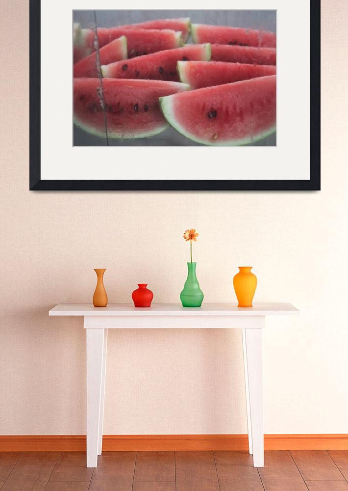 """watermelon wedges leon nicaragua&quot  (2011) by charker"