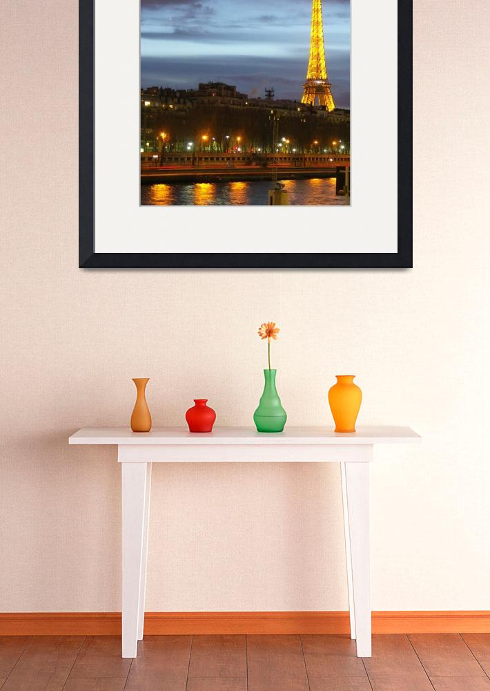 """Le Seine et la Tour Eiffel&quot  (2005) by MattParry"