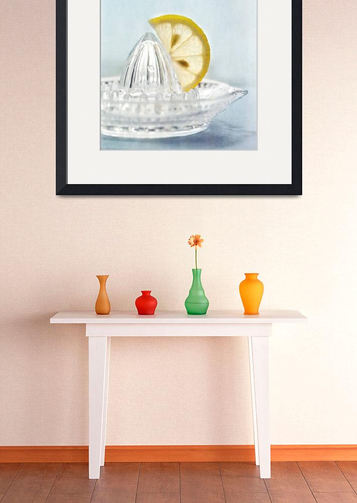 """""""still life with a half slice of lemon&quot  by Piri"""