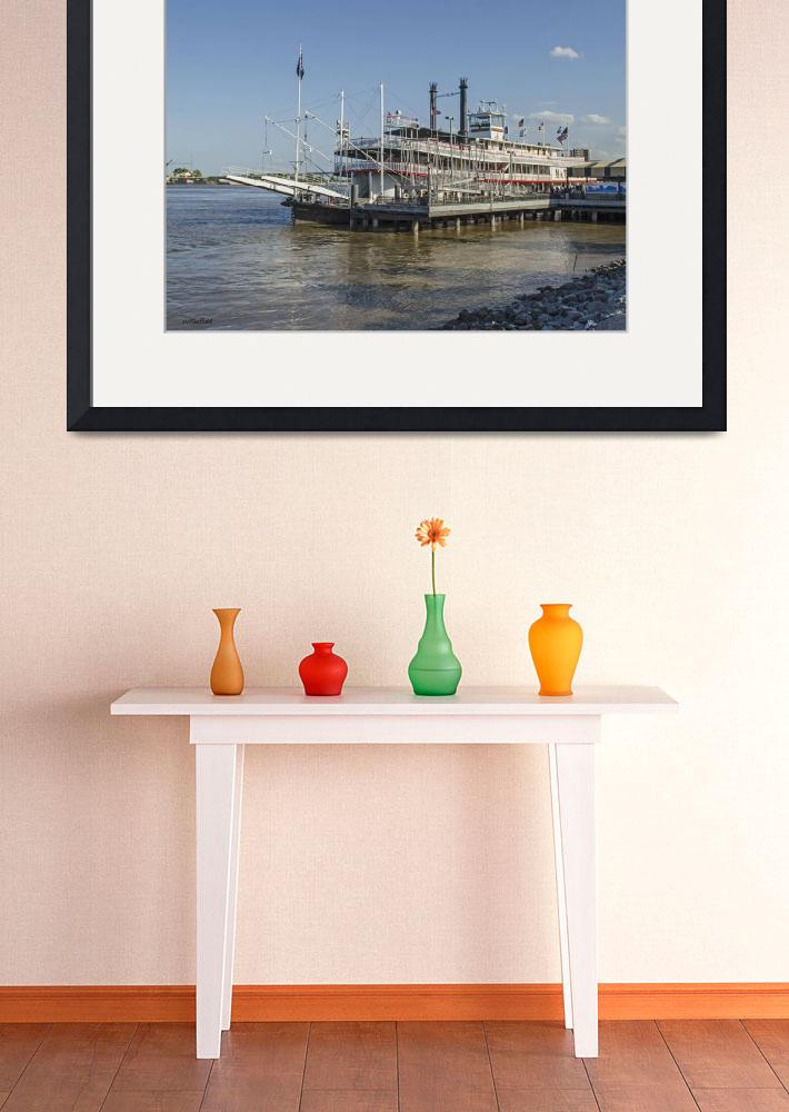 """""""New Orleans Natchez Paddle-wheel 1&quot  (2016) by awsheffield"""