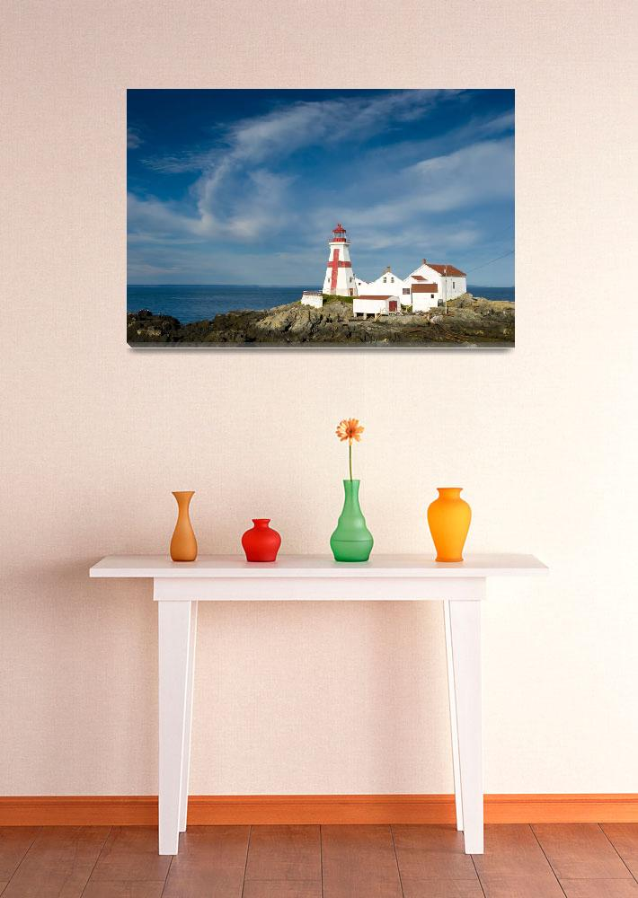 """""""East Quoddy Lighthouse (Head Harbour Lighthouse)""""  by cary"""