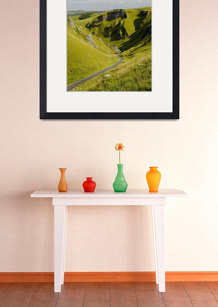 """Looking Down Winnats Pass (29775-RDA)&quot  (2011) by rodjohnson"