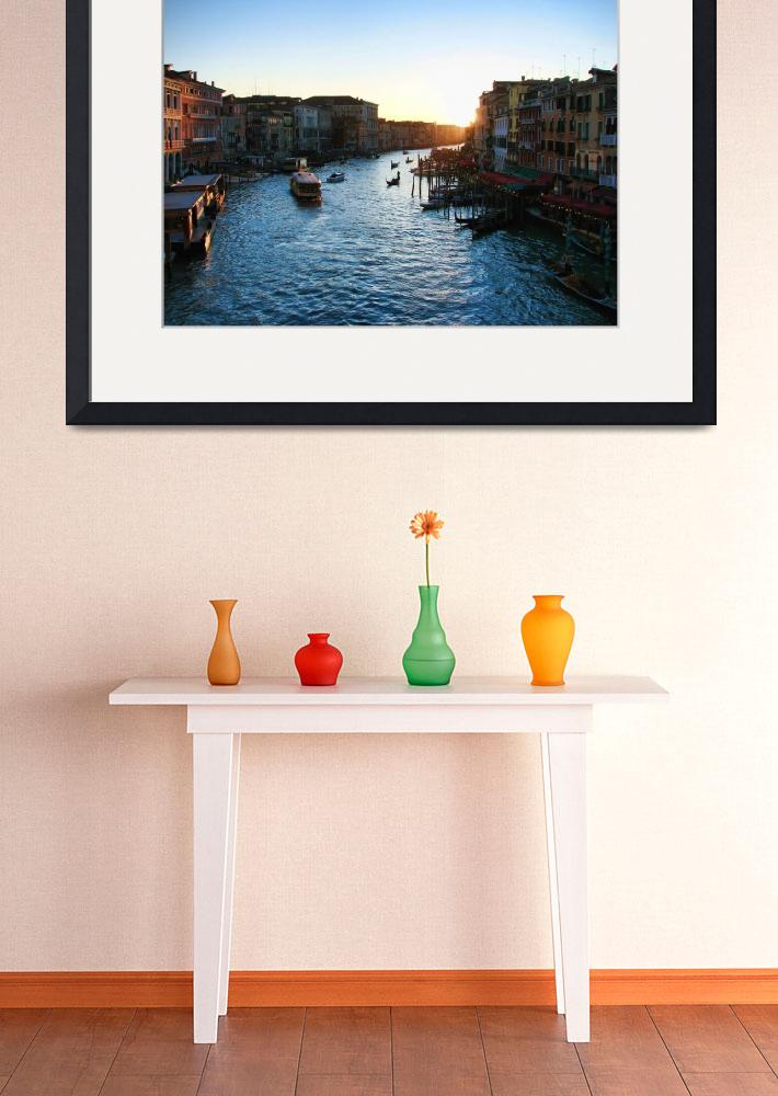 """""""Grand Canal""""  (2007) by travelbug"""