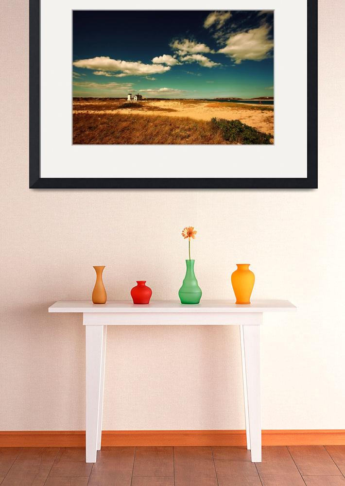 """""""Cape Cod Chatham Stage Harbor Light House&quot  (2008) by dapixara"""