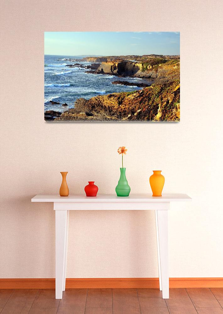 """""""Portugal SW Coast&quot  (2008) by JoaoPonces"""
