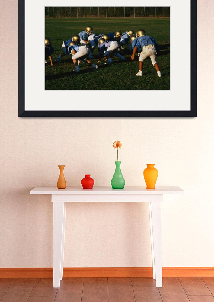 """Junior Football Practice&quot  by Panoramic_Images"