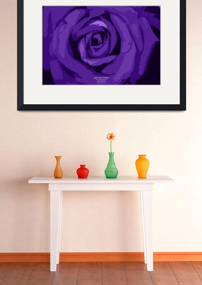 """July Rose Purple""  (2012) by SouthIdahoPhoto"