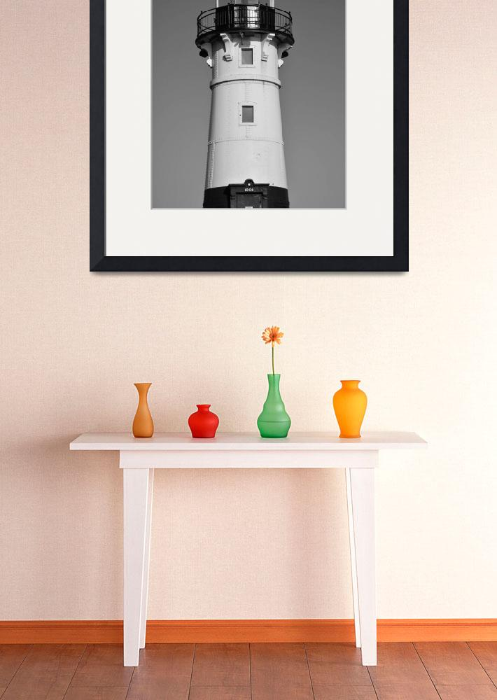 """""""Duluth Harbor North Breakwater Lighthouse 2&quot  (2015) by robertmeyerslussier"""