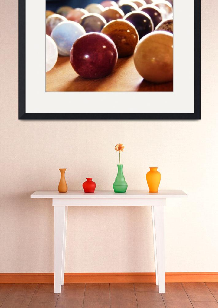 """""""Colorful Spheres""""  (2009) by Holshue"""