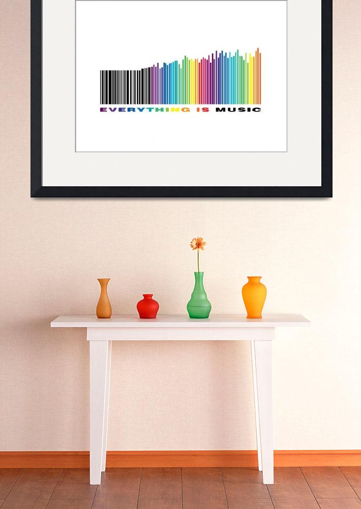 """""""Everything is music 