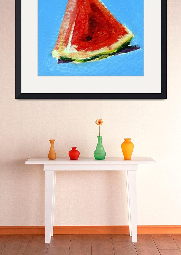 """""""Watermelon&quot  by AnnTuck"""