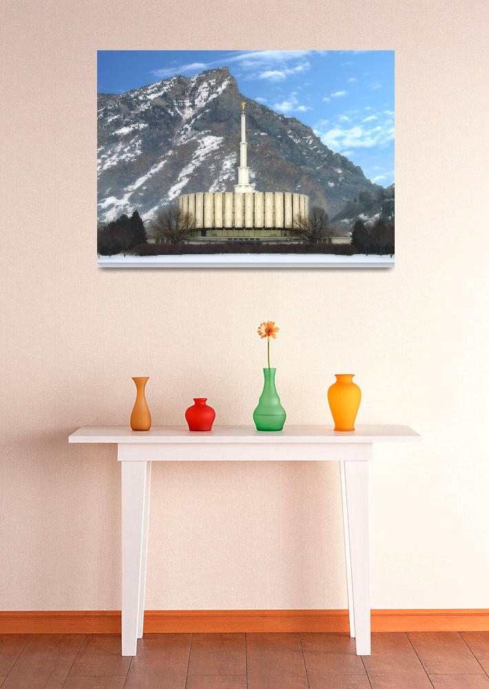 """Provo temple&quot  by TerrySpringer"