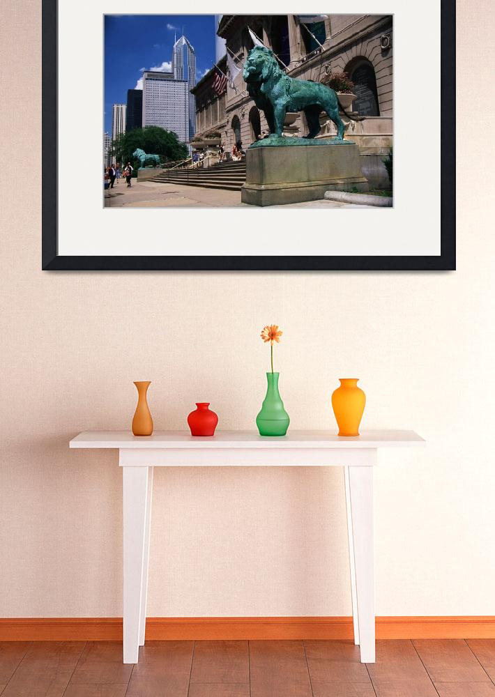 """""""Art Institute of Chicago Chicago IL&quot  by Panoramic_Images"""