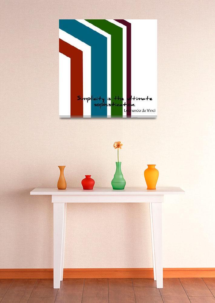 """""""Simple Sophisticated 2""""  (2012) by JWardStudios"""