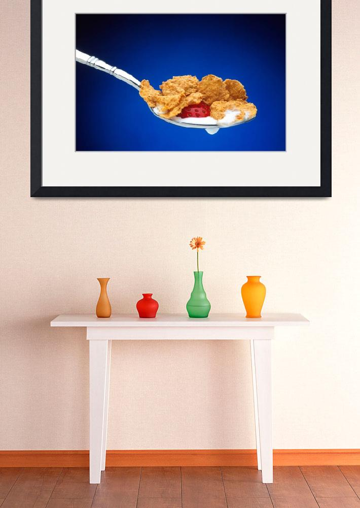 """""""Eating Cereal&quot  by Alleycatshirts"""