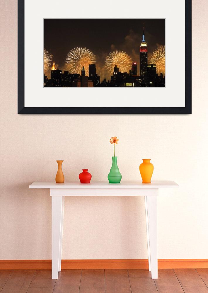 """""""New York City: 4th of July&quot  (2010) by Evilkid"""
