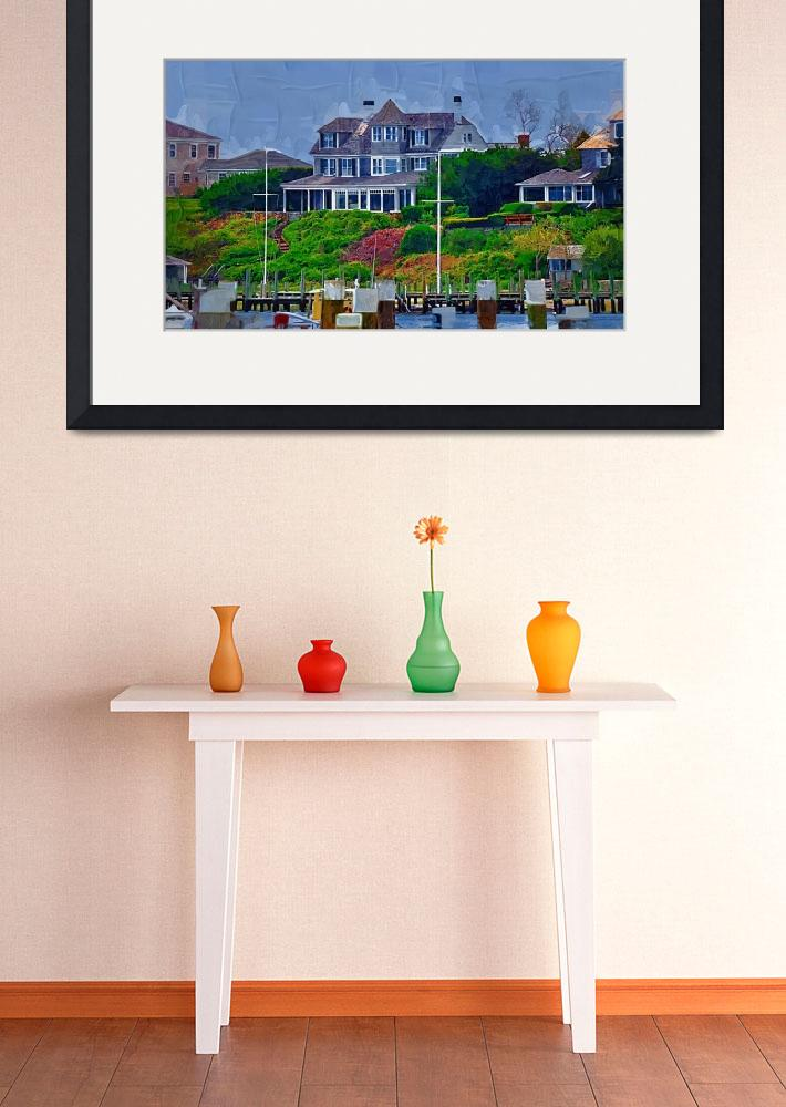 """""""Seaside Summer Home&quot  (2014) by Kirtdtisdale"""