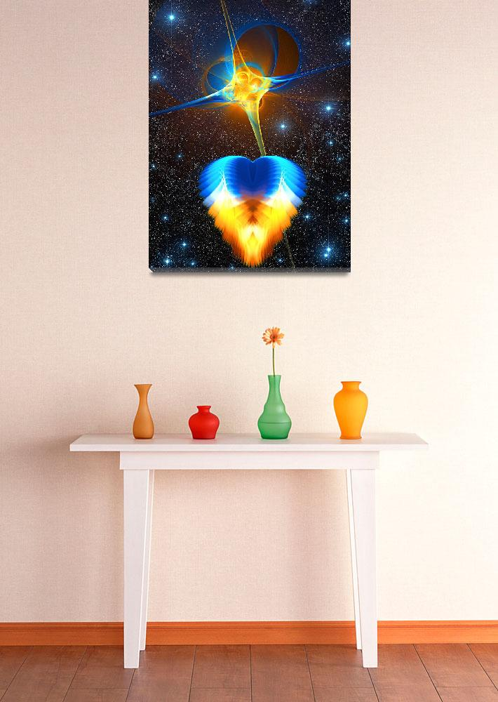 """""""Celestial Sculpture - Faith, Hope and Love&quot  (2008) by RandallKlopping"""