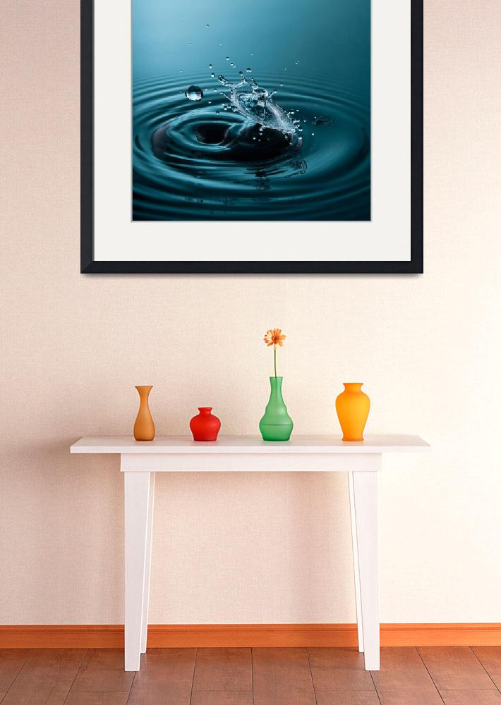 """""""Fine Art Water Drop Photography - Before and After""""  (2009) by michalfanta"""