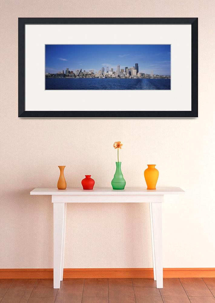 """""""Skyscrapers on the waterfront&quot  by Panoramic_Images"""