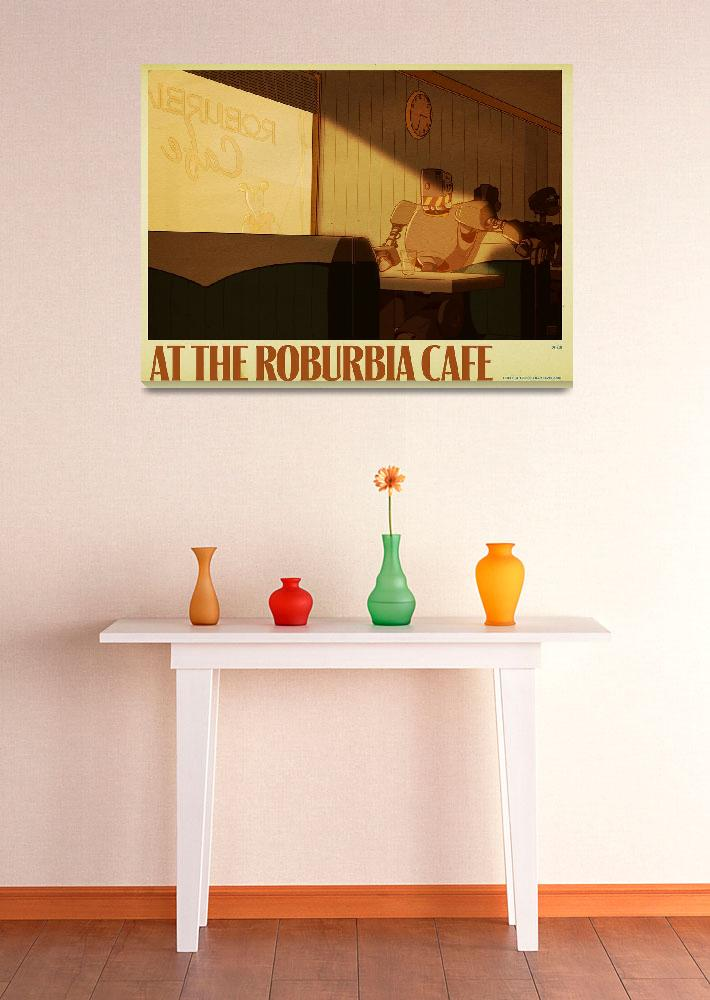 """At the Roburbia Cafe""  by lexigeek"